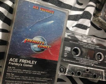 ACE FREHLEY - Frehley's Comet audio cassette tape