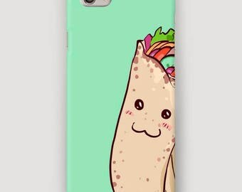 Taco iPhone 6 Case, Funny iPhone 7 Plus Case, Cool iPhone Case, iPhone 5 Cover, Taco Phone Cover, Case for iPhone 7, Food Print Cover iPhone