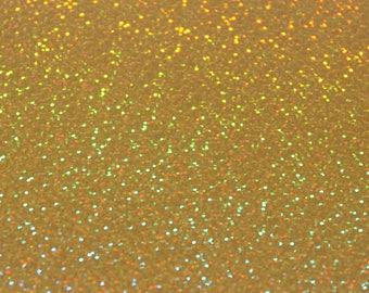 Gold Holographic Heat Transfer Vinyl A4 Sheet