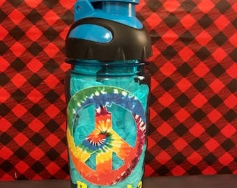 Personalized Peace Water Bottle