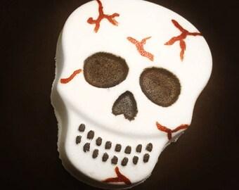 Skull Bath Bomb - Halloween Bath Bomb - Skeleton Bath Bombs - Black Bath Bomb