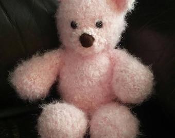 Cuddle Me Pink Teddy