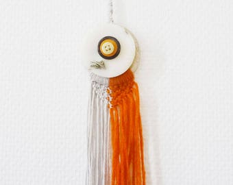 Hanging macrame - dream dreams and fragrant pastille 100% soy wax natural - fragrance