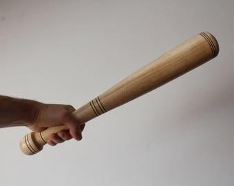 Wooden baseball bat.Baseball decor.Wooden bat.Sports decorations.Retro wooden bat.Sports decor.Handmade wooden bat.Ukraine bat.