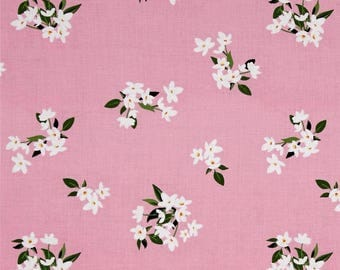 tissu patchwork rose  MICHAEL MILLER  fabrics LILY OF THE VALLEY