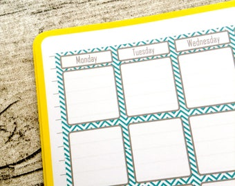Bullet journal mese etsy for Capannone pianificatore di layout