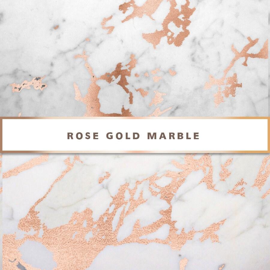 Rose Gold Marble : Rose gold marble digital paper