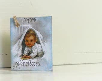Label-Baby, gift label card