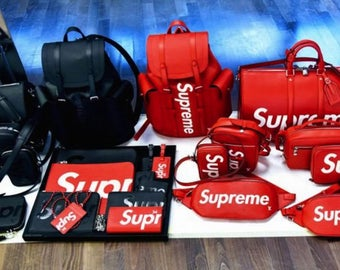 Supreme Red Wristlet small purse GG Supreme Clutch Supreme Purse- no addition inserts or wallets - just wrist let
