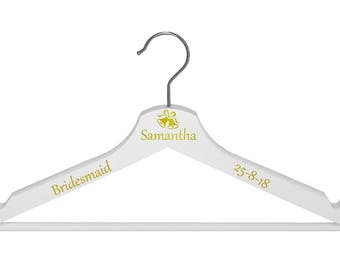 Wedding Coat Hanger Personalised Coat hanger for your wedding day
