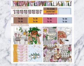 Dinner Date Mini Kit// Weekly planner kit
