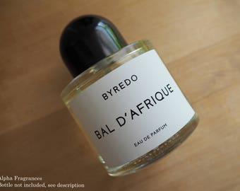 AUTHENTIC Byredo Bal D'Afrique - Sample / Travel Size Eau de Parfum Niche Fast Free US Shipping