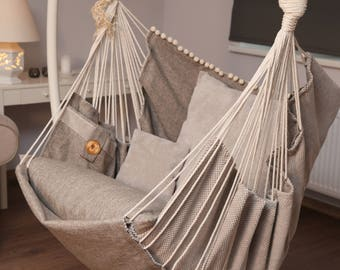 Medium image of hammock chair for home and garden for interior decor and relax