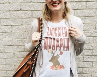 Gangster Wrapper Vintage Christmas Tee