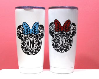 Personalized Monogram Tumbler, Gift for her, Best Friend Gift