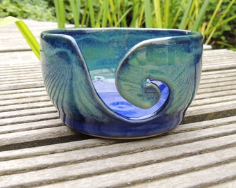 Wolpot/yarnbowl ceramic stoneware