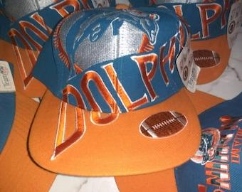Vintage 90s Miami Dolphins NFL snapback!!