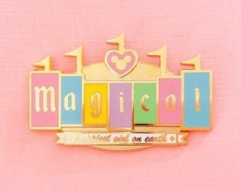 Magical Marquee Enamel Pin PRE-ORDER