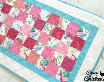 Waterproof Baby Change Mat, Changing Pad Wipeable, Unique Baby Shower Gift, New Baby Gift, Baby Girl, Newborn Gift Owls White Pink Blue