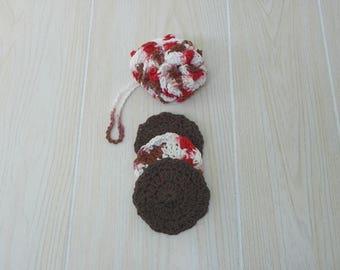 Crochet Shower Loofah and Facial Scrubbies