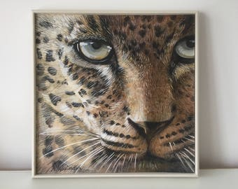 Leopard Painting - Acrylic Painting - Leopard - Original Painting