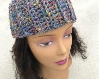 Grey mix headband