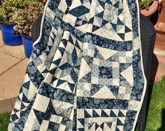 Handmade Patchwork Quilt....the Sampler