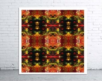 MIGRATION - 30x30cm Canvas