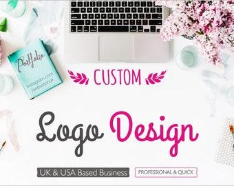 Custom Logo Design, Logo Design, Custom Design Logo, Designer Logo, Ooak Logo, Unique Logo, Business Logo, Royal Logo, Boutique Logo