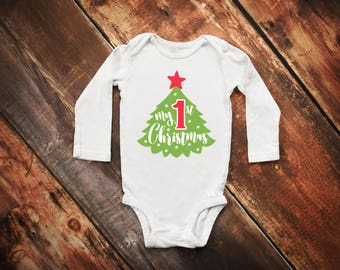 My 1st Christmas Bodysuit