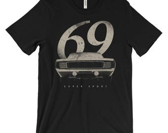 Vintage 1969 Chevy Camaro - American Muscle Car t-Shirt