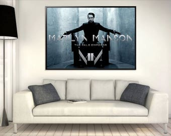 Marilyn Manson - The Pale Emperor -  Poster A0 (INSTANT DOWNLOAD)