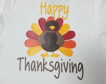Happy Thanksgiving onesie