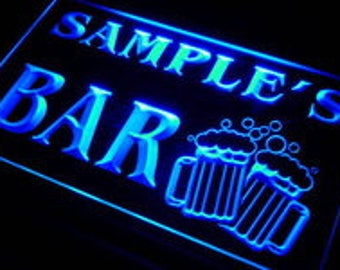 Personalized Sign Custom Name Neon LED Decor For Home Bar Man Cave Business  Man Cave