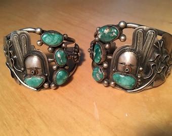 Navajo Sterling Silver Collectors Set
