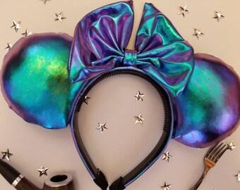 Chrome Mermaid Mouse Ears