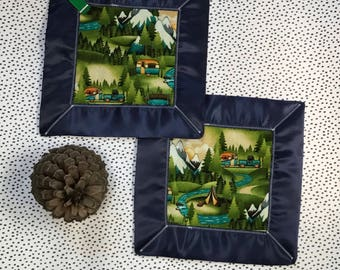 The great outdoors lovey - security blanket- baby shower gift