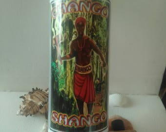 Maferefun Shango, Orisha Candle, Blessed Candle, Dressed Candle, Fixed Candle, Prayer Candle, Meditation Candle, Attraction Candle, 7 day