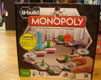 U-Build Monopoly Family Board Game by Hasbro