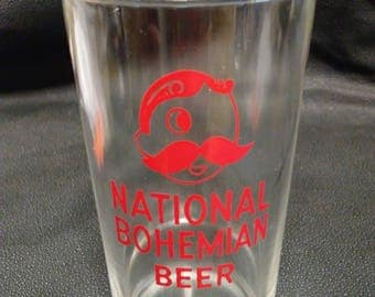 National Bohemian Beer 8 oz. Glass