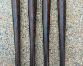 "Tapered Wood 14"" Furniture legs"