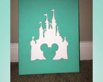 Disney Castle Canvas