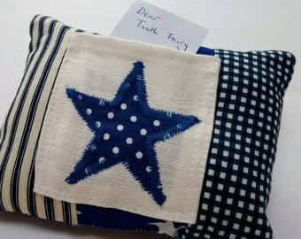 Tooth Fairy Cushion Blue Star