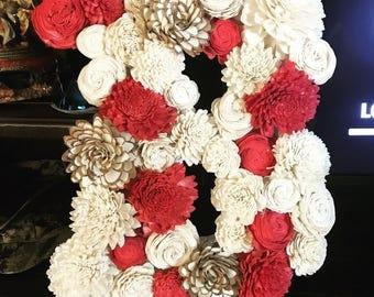 Sola Wood Flower Letter