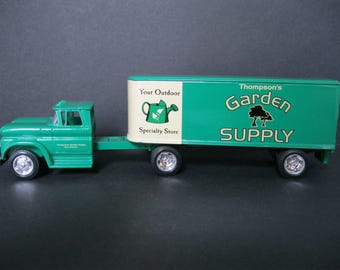 Vintage Diecast Semi Truck, Thompsons Garden Supply, Tulsa Oklahoma