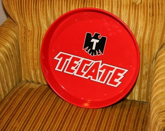 TECATE Beer 1993 Tray from Tijuana Club in the 1990s