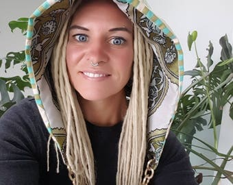 Reversible Festival Hood with Chain