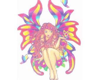 Fairy temporary tattoo