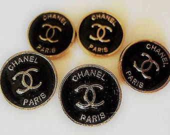 Chanel Small Buttons Set of 5