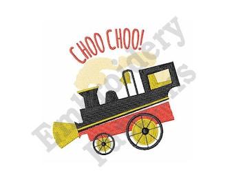 Choo Choo! - Machine Embroidery Design